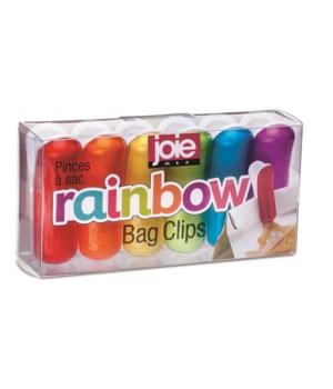 Rainbow Bag Clips (6 pc Giftbox)