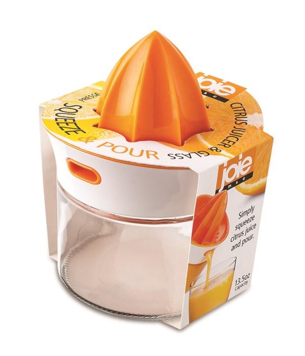 Squeeze & Pour Citrus Juicer & Glass (Sleeve)