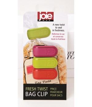 Twist Bag Clip (3 pc Card)