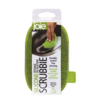 Silicone Scrubbie (Card)