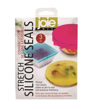 Stretch Silicone Seals   3 pc