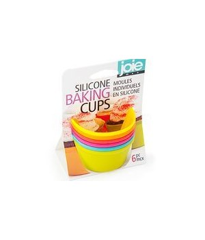Silicone Baking Cups (6 pc Card)