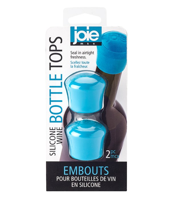 Silicone Bottle Tops (2 pc Card)