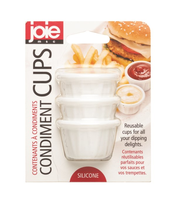 Silicone Condiment Containers