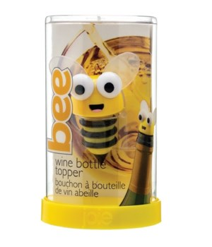 Bee Wine Bottle Topper (Giftbox)