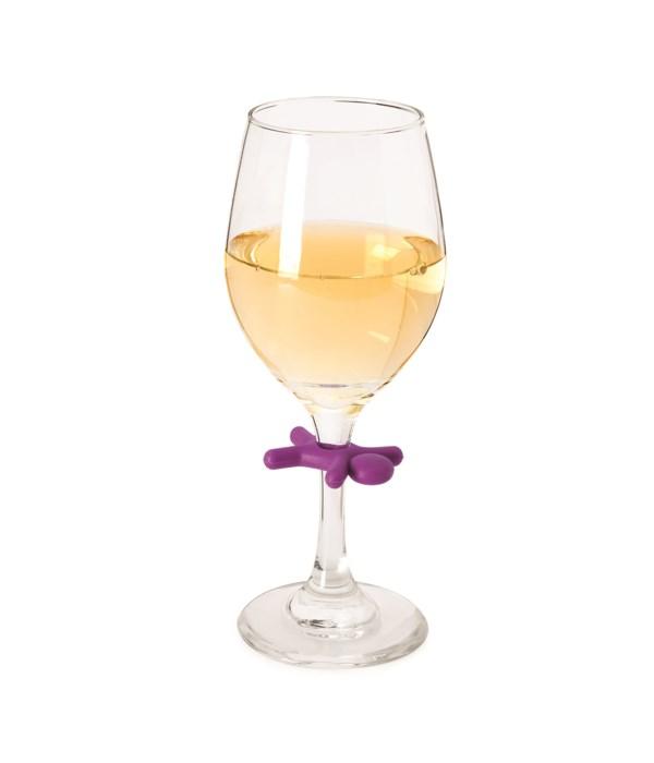 Stickman- Wine Glass Charms (6 pc Card)