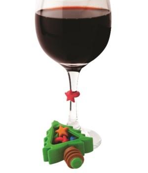 Noel - Tree Bottle Topper & Charms (7 pc Card)