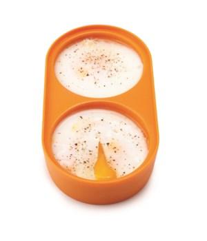 Eggy - Double Microwave Egg Poacher (Sleeve)