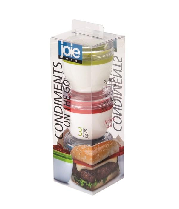 Condiments On The Go (3 pc Giftbox)