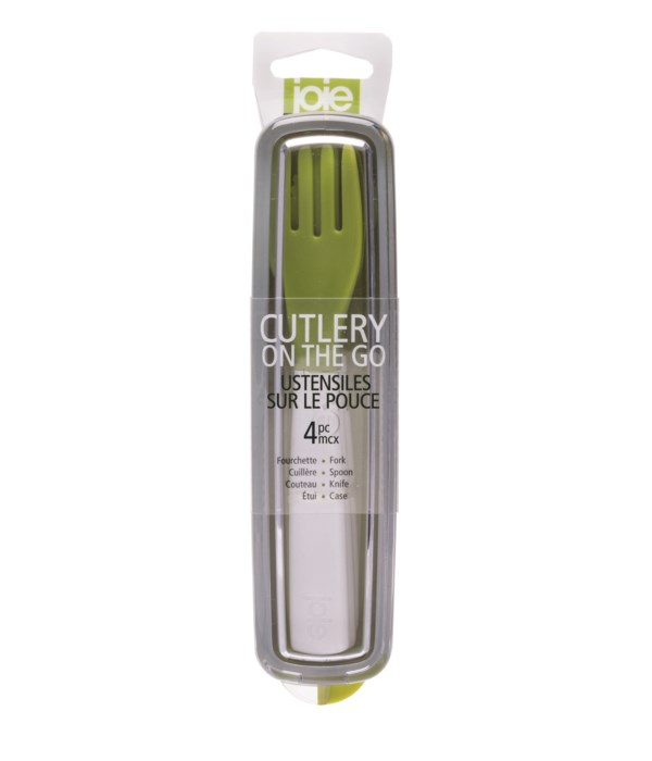 Cutlery On The Go 4pc Set