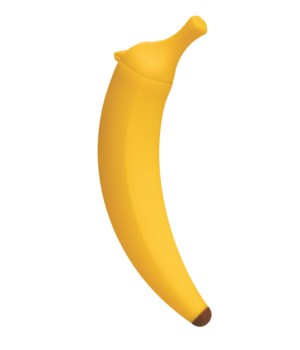 Monkey - Banana Freeze  Push Pop (Card)