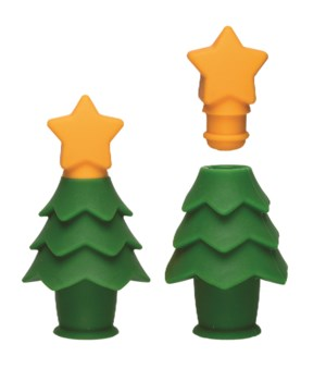 Noel - Silicone Wine Seal & Serve (Card)