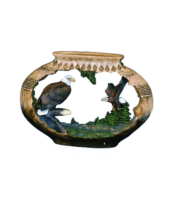 EAGLE / POTTERY CUTOUT 9 in. W