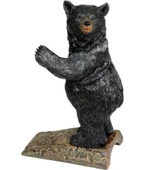 Door Stop - Bear cast iron & resin 3 lbs.