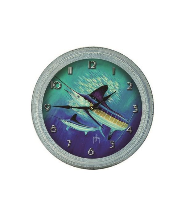 Clock 15 in. - Marlin
