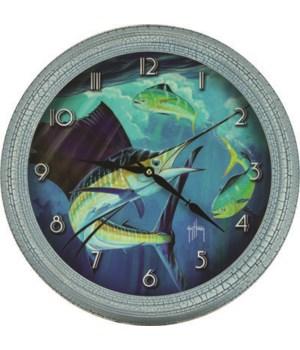 Clock 15 in. - Sailfish