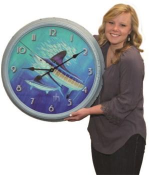 Clock 26 in. - Guy Harvey