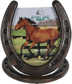 Picture Frame 4in x 6in - Horseshoe