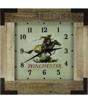 Clock Wood Frame 24 in. - Winchester