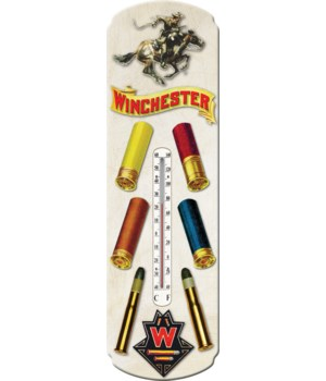 Tin Thermometer - Winchester Ammo 5 x 17 in.
