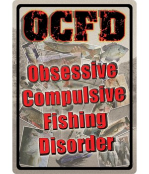 Tin Sign 12in x 17in - OCFD