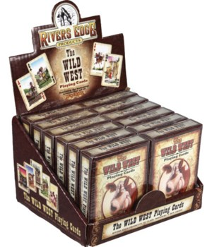 Playing Cards - The Wild West