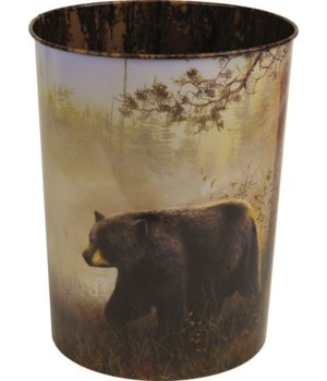 Waste Basket - Jim Hansel Bear10.5 in.