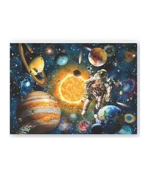 Puzzle in Tin 1000-Piece - Space 20 x 28 in.
