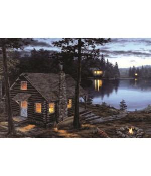 LED Art 24in x 16in - Cabin Reward