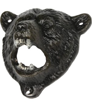 Bear Cast Iron Bottle Opener