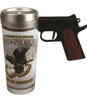 Pistol Mug - We the People16 oz