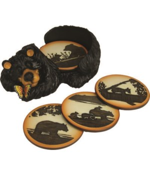 Coaster Set - Bear
