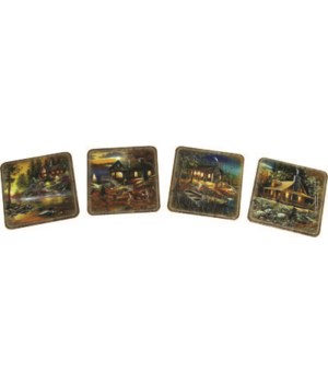 Coaster 4-Piece Set - Cabins