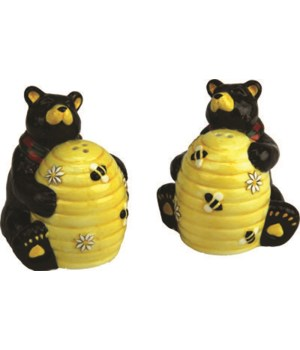 Salt and Pepper Shakers - Bear