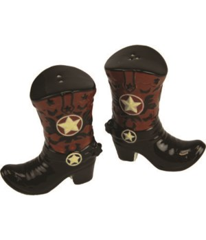 Salt and Pepper Shakers - Cowboy Boots