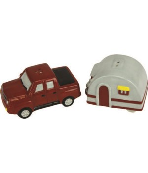 Salt and Pepper Shakers - Truck and Camper