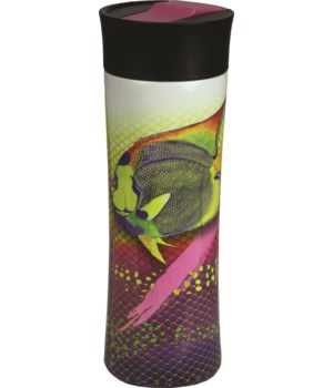 Travel Mug 16oz SS - Angel Fish