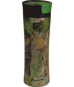 Travel Mug 16oz SS - Green Camo