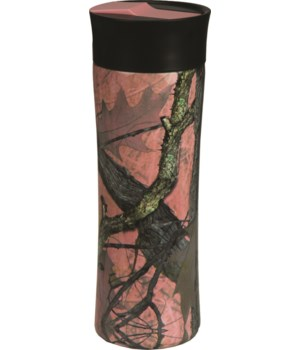 Travel Mug 16oz SS - Pink Camo