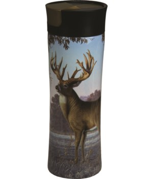 Travel Mug 16oz SS - Deer