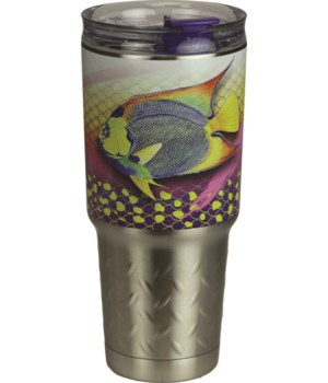 Tumbler 32oz SS - Angel Fish