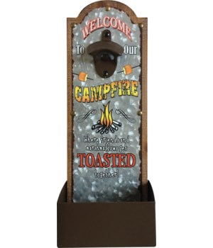 Bottle Opener - Get Toasted 6.5 x 14.5 in.