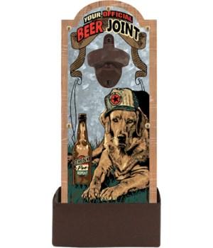 Bottle Opener - Beer Joint 6.5 x 14.5 in.