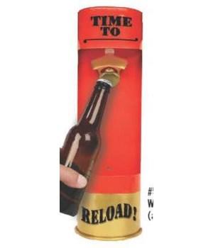 Bottle Opener - Shot Shell 7 x 15 in.