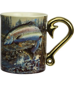 Ceramic Mug 3D 15oz - Rainbow Trout