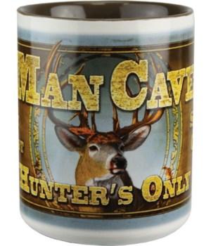 Ceramic Mug 16oz - Deer