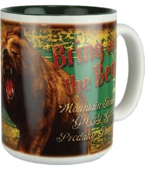 Ceramic Mug 16oz - Bear