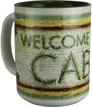 Ceramic Mug 16oz - Welcome to the Cabin