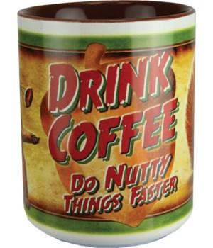 Ceramic Mug 16oz - Drink Coffee
