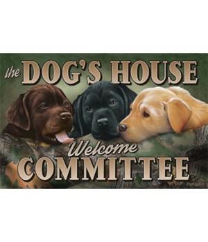 Door Mat Rubber 26in x 17in - Dogs House